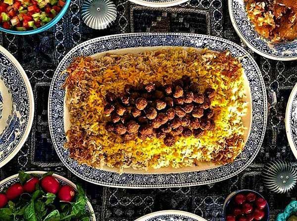 زیره پلو غذای محبوب کرمانی ها