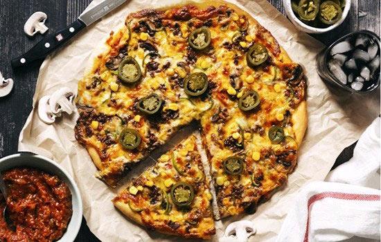 پیتزای مکزیکی