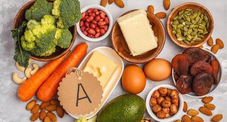زبان خوراكی ها - من ویتامین آ هستم