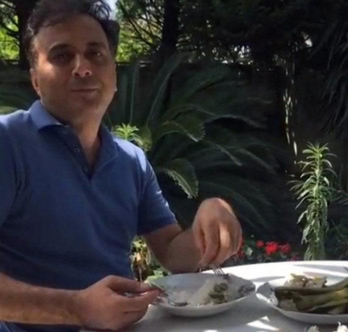 آشپزی در طبیعت دکتر مجید اخشابی