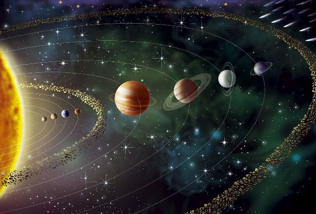 پیدایش منظومه شمسی
