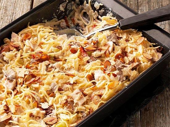 چیکن تترازینی تجربه طبخ غذای ایتالیایی