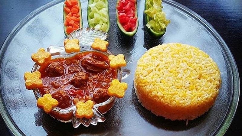 مرجو پلو غذای سنتی طالقان