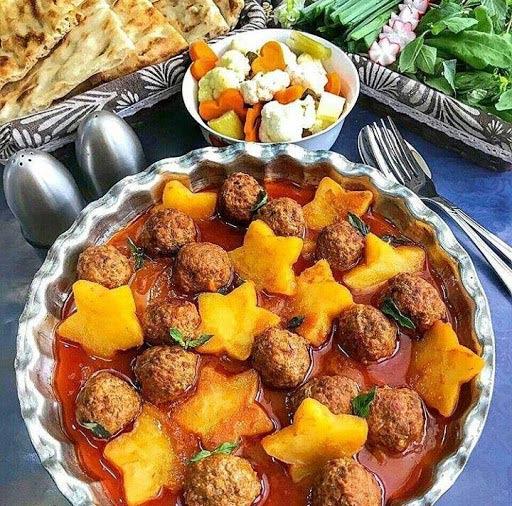 کله گنجشکی غذای اصیل ایرانی