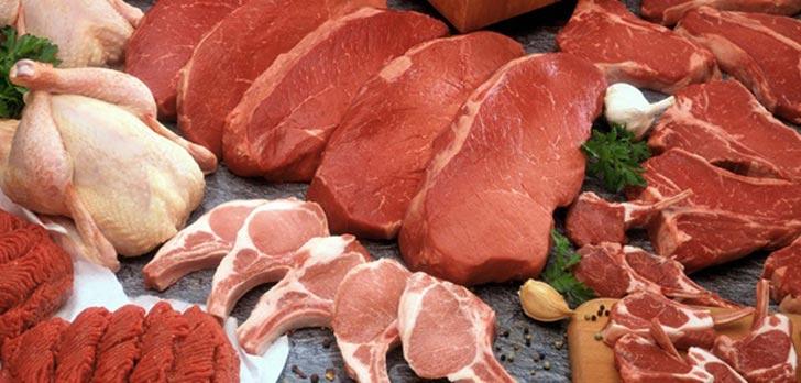 انواع گوشت و خواص آنها