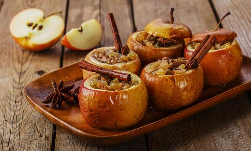 دسر سیب پخته دسری برای روزهای سرد پاییز