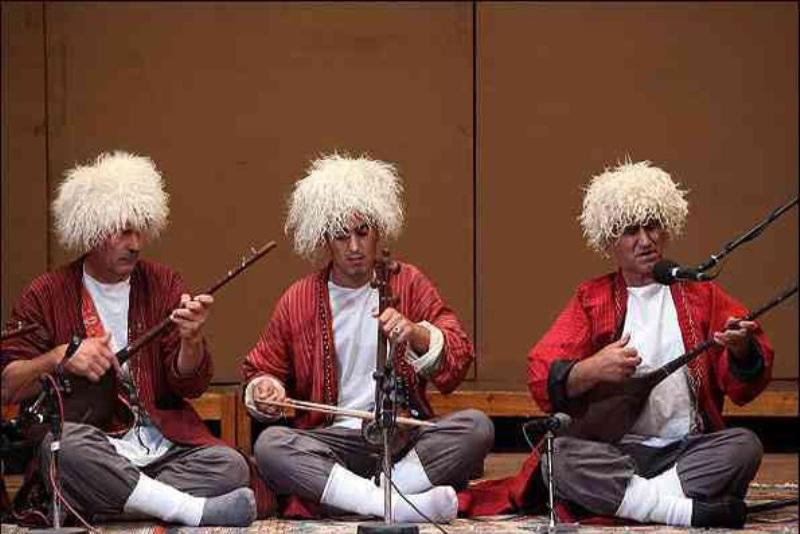موسیقی ترکمن های ایران