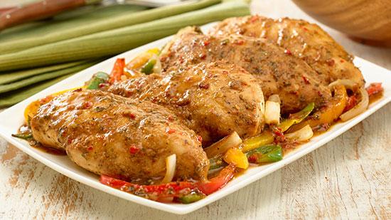 مرغ ایتالیایی با طعمی متفاوت