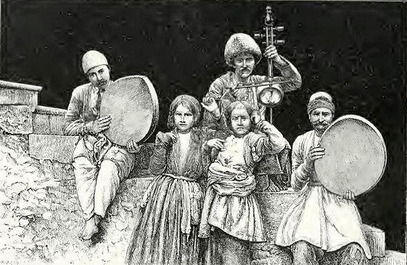 موسیقی کولیان ایران
