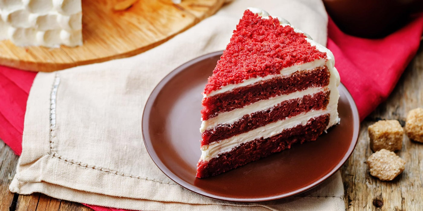 کیک ردولوت (کیک مخملی قرمز)